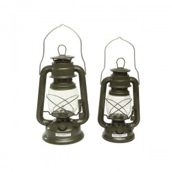 Petroleum Lantaren Oil Lamp OD Green 28cm